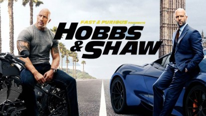 Fast & the furious Hobbs and Shaw